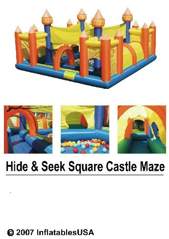 Inflatable Preschool Daycare Kids Funzone Playhouse